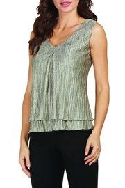 Frank Lyman Metallic Sleeveless Top - Product Mini Image