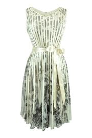 Frank Lyman Pleated Satin Dress - Product Mini Image
