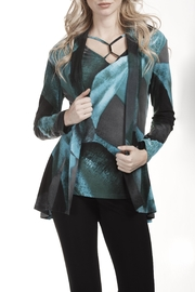 Frank Lyman Printed Drape Jacket - Product Mini Image