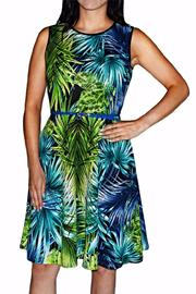 Frank Lyman Royal Lime Dress - Front cropped