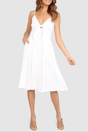 Lost in Lunar Samantha Linen Dress - Product Mini Image