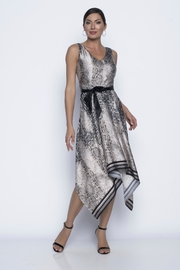 Frank Lyman Satin Python Print Dress - Product Mini Image