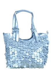 Frank Lyman Silver Paillettes Bag - Product Mini Image