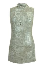 Frank Lyman Sleeveless Shimmer Tunic - Product Mini Image
