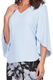 Frank Lyman Split Sleeve Top - Side cropped