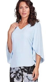 Frank Lyman Split Sleeve Top - Front cropped