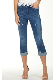 Frank Lyman Stretchy Bling Jeans - Product Mini Image