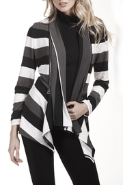 Frank Lyman Stripe Jersey Jacket - Product Mini Image