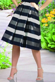 Frank Lyman Striped Flare Skirt - Product Mini Image