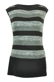 Frank Lyman Shhimmer Stripe Sweater - Product Mini Image