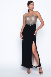 Frank Lyman Crystal Beaded Gown - Front cropped