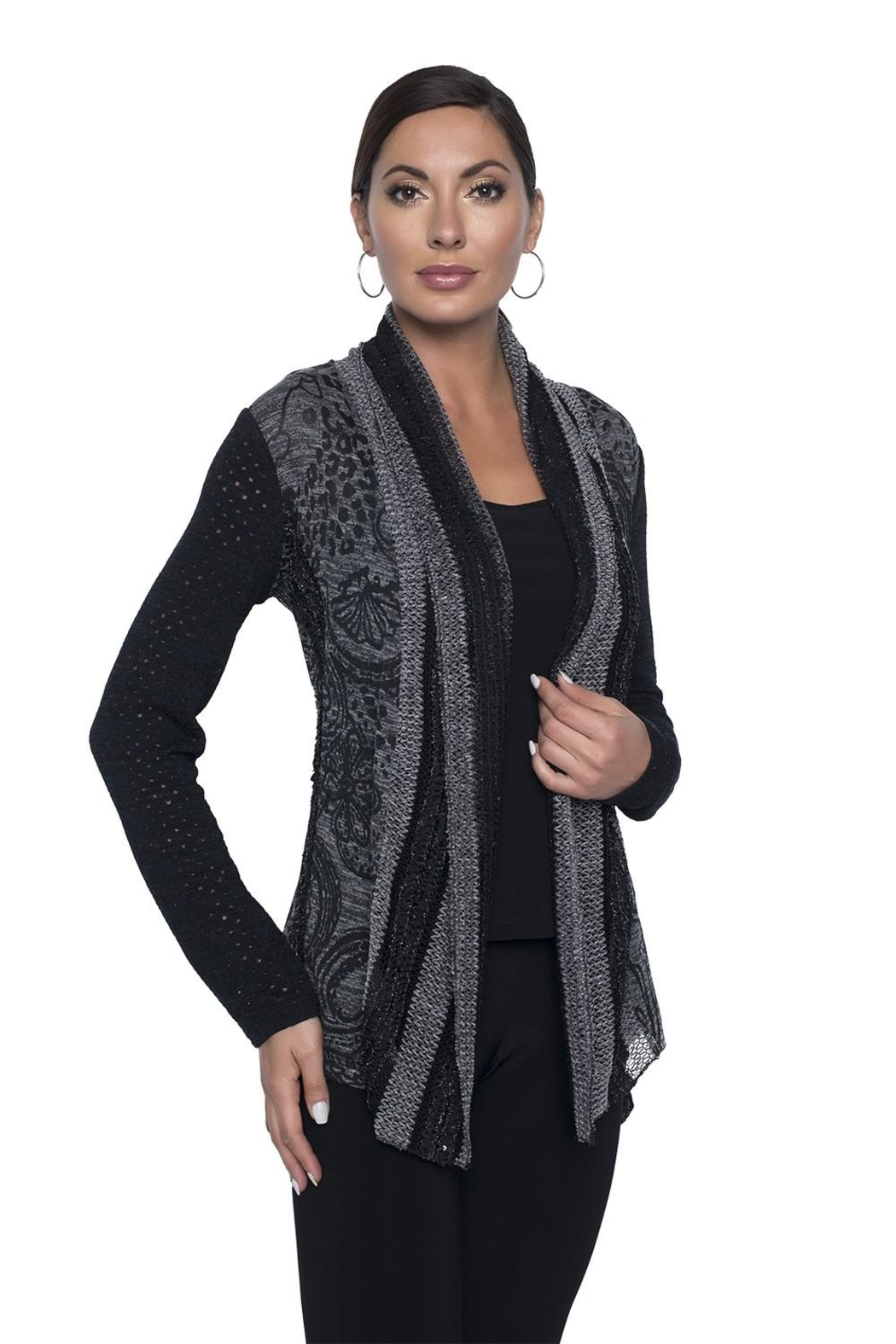 Frank Lyman Stylish Printed Coverup - Front Cropped Image