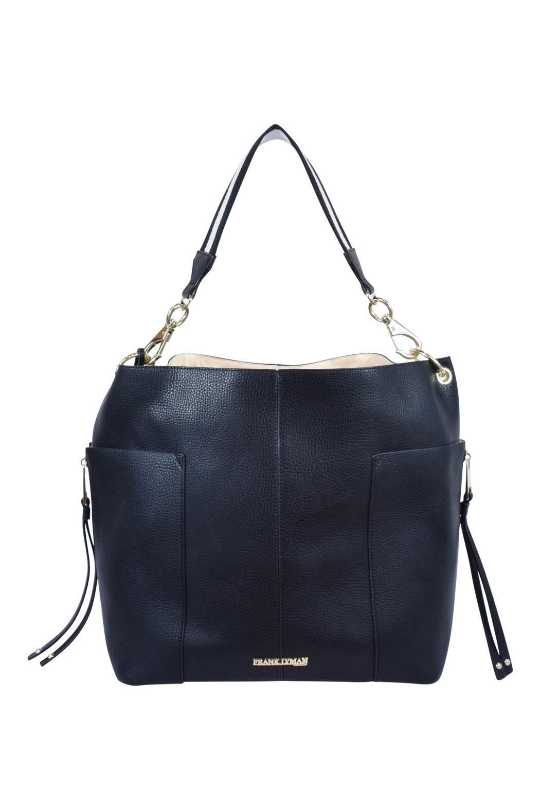 Frank Lyman Two Toned Tote - Front Full Image
