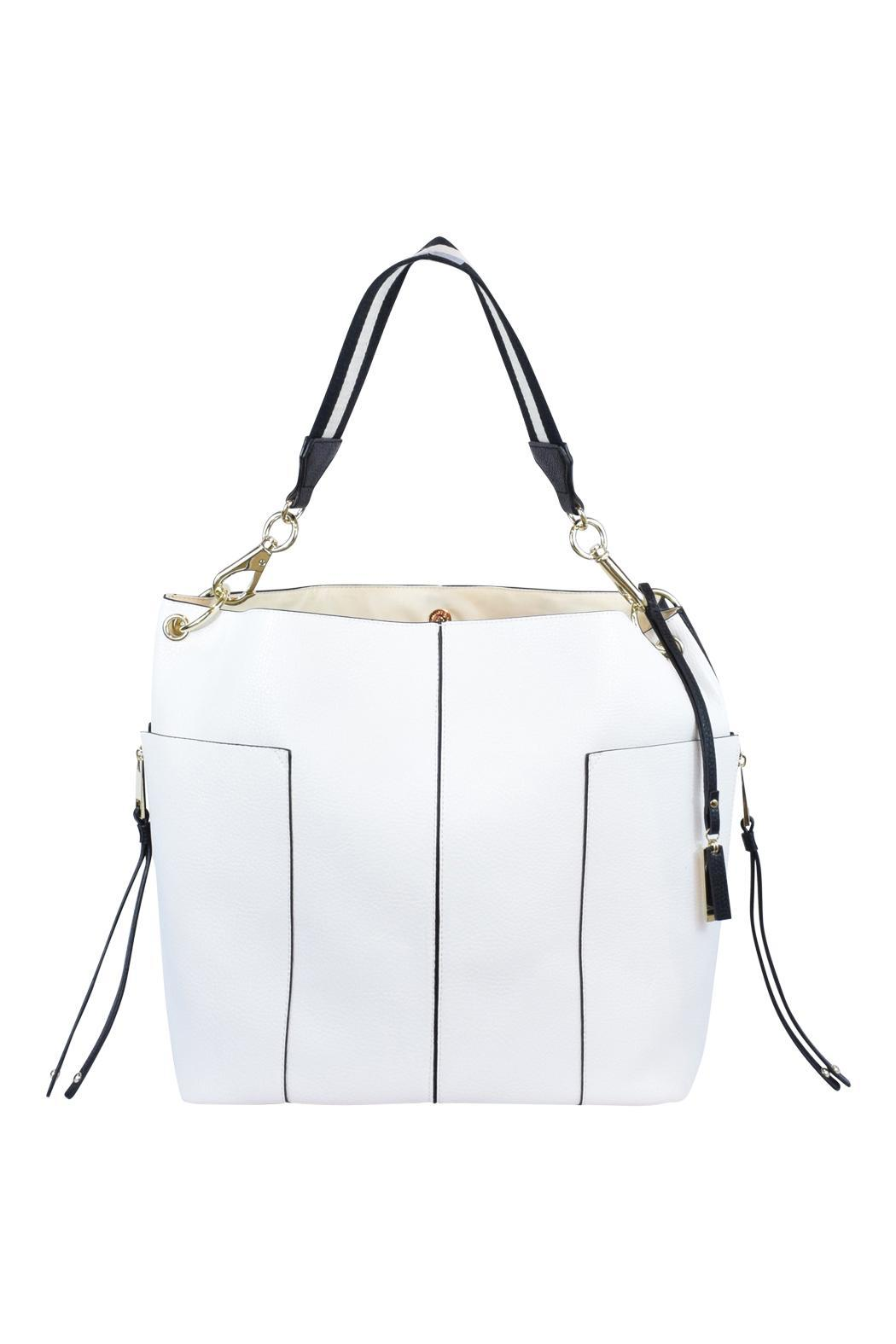 Frank Lyman Two Toned Tote - Main Image