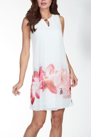 Frank Lyman White Coral Dress - Product Mini Image