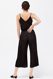 LACAUSA Franklin Satin Trousers - Back cropped