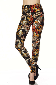 New Mix Franny Print Legging - Front cropped