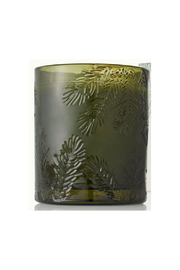 Maison A Frasier Fir Green Glass Candle - Front cropped