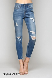 Vervet Fray Hem Denim - Product Mini Image