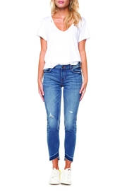 Dex Fray Hem Jean - Product Mini Image