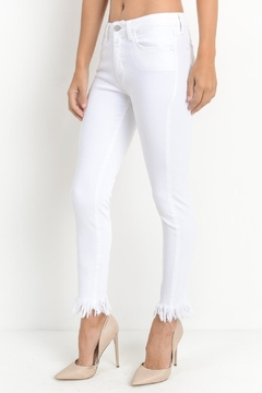 Shoptiques Product: Fray Hem Jeans