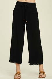 annabelle Fray Hem Pants - Product Mini Image