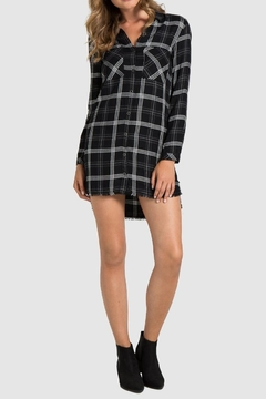 Bella Dahl Fray Hem Shirtdress - Product List Image