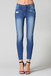 Flying Monkey Fray-Hem Skinny Jean - Product Mini Image