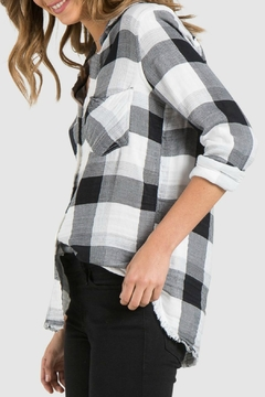 Bella Dahl Frayed Button Down - Alternate List Image