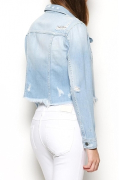Hidden Jeans Frayed Denim Jacket - Alternate List Image