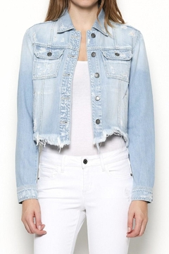 Hidden Jeans Frayed Denim Jacket - Product List Image