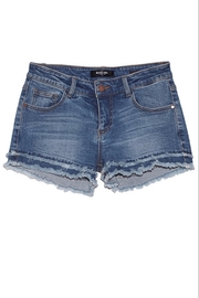 Cest Toi Frayed Denim Shorts - Product Mini Image