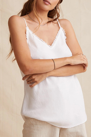 Bella Dahl  Frayed Edge Cami - Front cropped