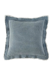 Mud Pie Frayed Flange Pillow - Product Mini Image