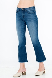Sneak Peek Frayed Hem Denim - Product Mini Image