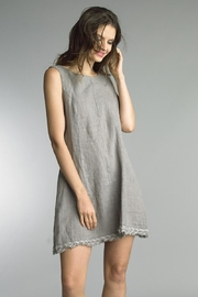 Tempo Paris Frayed Hem Dress - Product Mini Image