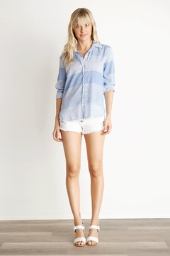 3035bbe7fe Bella Dahl Frayed Hem Shirt - Alternate List Image ...