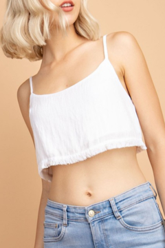 Le Lis Frayed Hem Spaghetti Strap Top - Product List Image