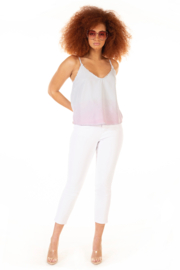 Dex Frayed & Ombre Dip Dye Cami - Product Mini Image