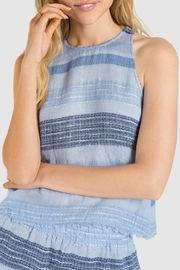 Bella Dahl Frayed Swing Tank - Front cropped