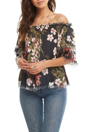 Chaser Frayed Tier-Sleeve Top - Product Mini Image