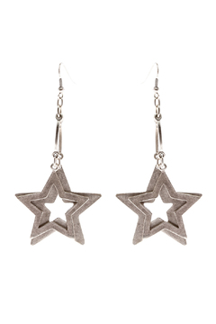 Shoptiques Product: Double Star Earrings