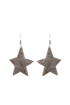 Shoptiques Product: Hammered Earrings