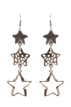 Shoptiques Product: Whimsical Star Earrings