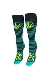 FREAKER USA Weed Socks - Front cropped
