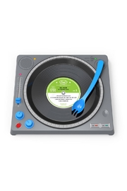 Fred & Friends Dinner Dj Plate - Front cropped
