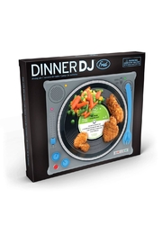 Fred & Friends Dinner Dj Plate - Front full body