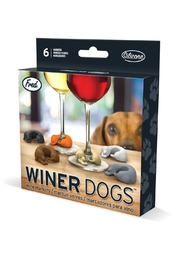 Fred & Friends Doggie Wine Markers - Front cropped