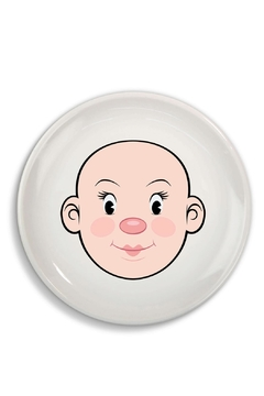 Fred & Friends Ceramic Food Face Plate - Alternate List Image