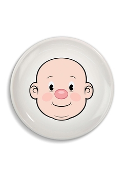 Fred & Friends Ceramic Food Face Plate - Product List Image
